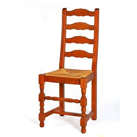 chaise en bois et paille chaise de salle à manger en bois et paille positano