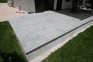 Terrasse granit nos conseils for Granit terrasse