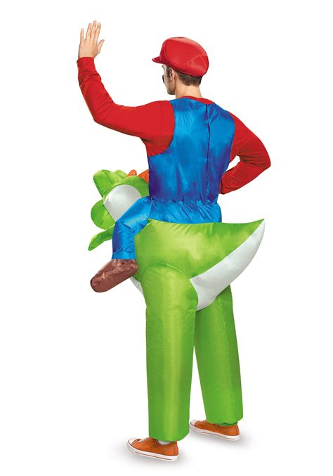mario riding yoshi costume  adults