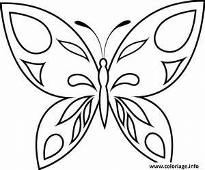 Dessin Facile Papillon : coloriage papillon 47 ~ Melissatoandfro.com Idées de Décoration