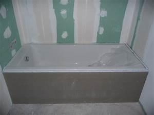 Baignoire à Poser : grand comment carreler autour d une baignoire frais poser ~ Melissatoandfro.com Idées de Décoration
