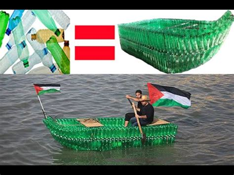 How To Make A Boat From A Bottle by Make A Boat From Empty Plastic Bottles 2015 Hd Sks