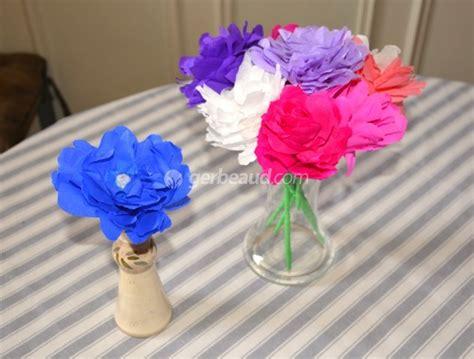 activit 233 enfants fabriquer des fleurs en papier pour la f 234 te des m 232 res