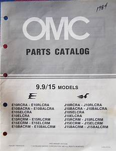 Omc Outboard Motor Parts Lists  Catalogs