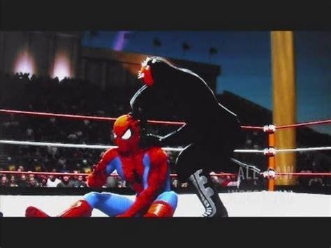 wwe  spider man batman  darth vader darth maul