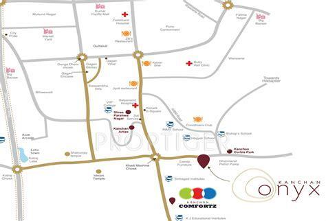 Kanchan Onyx in Undri, Pune   Price, Location Map, Floor