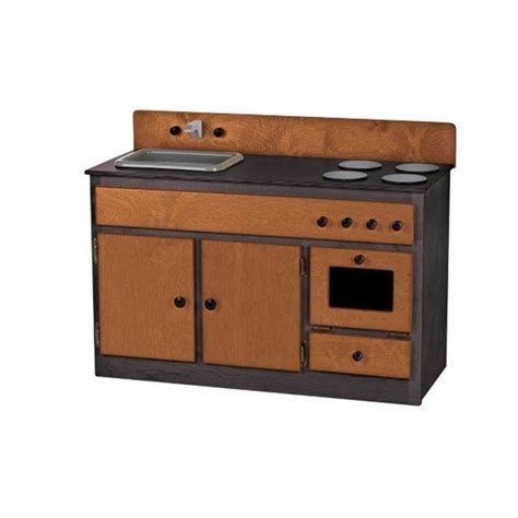 kitchen sink combo children s real wood play kitchen sink stove combo