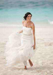 25 beautiful beach wedding dresses With how to dress for a beach wedding