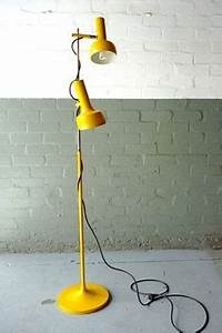 1000 images about vintage yellow on pinterest vintage for Retro floor lamp adelaide