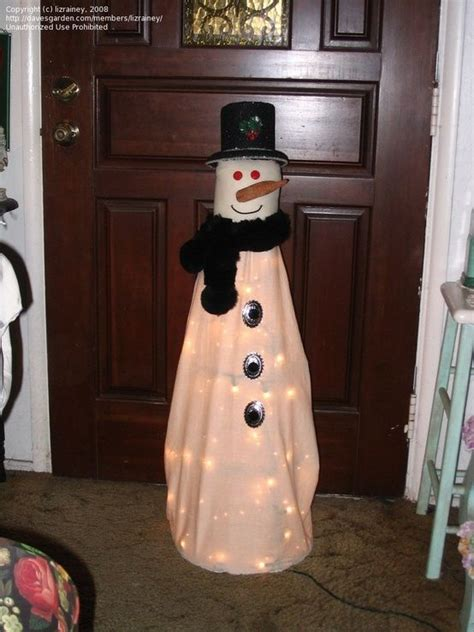tomato cage snowman snowman tomato cage by claudette winter blues pinterest