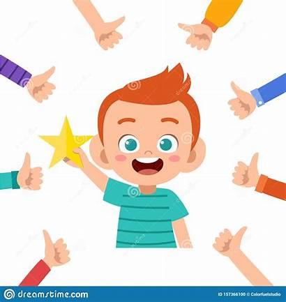 Praise Kid Boy Clipart Praising Cartoon Child