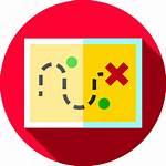 Treasure Map Icon Icons Flaticon Games Location