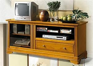 Meuble Tv Hifi : acheter votre meuble tv hifi 1 tiroir chez simeuble ~ Teatrodelosmanantiales.com Idées de Décoration