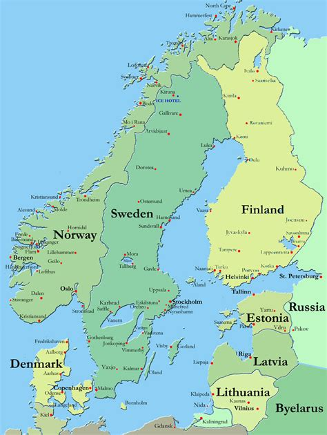 Which For The Nordic Countries Keeewei Planning To Travel
