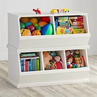 kids toy storage Storagepalooza: Kids Stacking Toy Storage | The Land of Nod