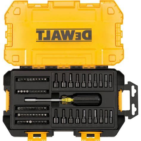 DEWALT 1/4 in. Multi Bit and Nut Driver Set (70 Piece