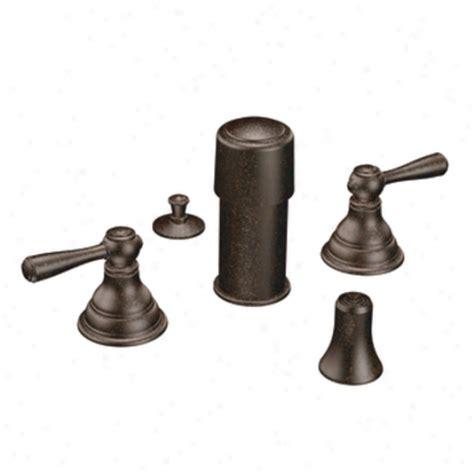 moen kingsley faucet rubbed bronze cifial 231 650 625 3 tub filler trim polished