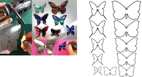 How To Make Aluminum Can Butterfly Step By Step Diy