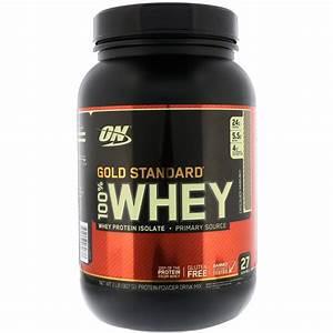 Optimum Nutrition  Gold Standard  100  Whey  Chocolate Hazelnut  2 Lb  907 G