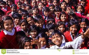 Indian School Children editorial photo. Image of girl ...