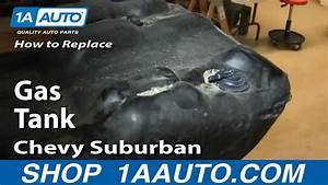 How To Install Remove Fuel Gas Tank 2000