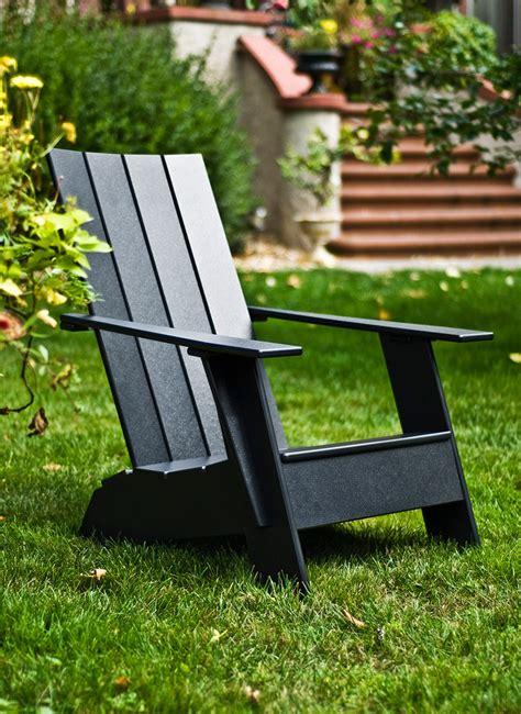 plastic adirondack chair  modern lollygagers loll designs