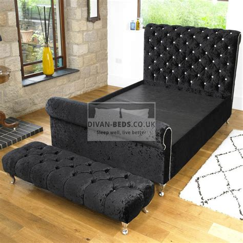 ellis luxury fabric upholstered bed frame guaranteed