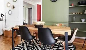 Chaise Moderne Avec Table Ancienne : cuisine ou salle manger quel espace pr voir pour une table c t maison ~ Teatrodelosmanantiales.com Idées de Décoration