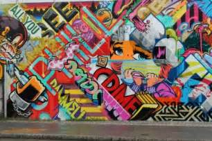 graffiti artists paint mural to promote first new york gallery show lower east side dnainfo