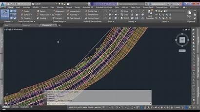 Polyline 3d Civil Civil3d Extraction Surface Corridor