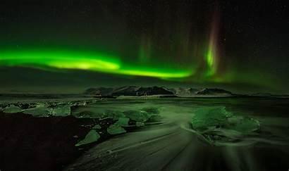 Northern Lights Arctic Wallpapers Night Sky Ice