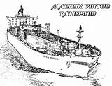 Coloring Carrier Aircraft Pages Ship Maersk Tankship Virtue Navy Sky Coloringsky sketch template