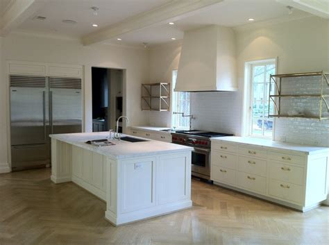 white slab kitchen cabinet doors white paint inset shaker doors slab drawers very clean