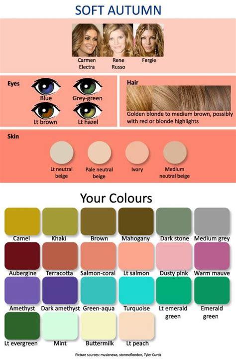 soft autumn color palette 25 best ideas about soft autumn on soft