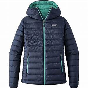 Patagonia Down Sweater Full Zip Hooded Jacket Women 39 S
