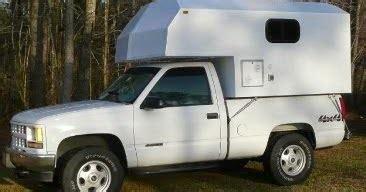 guys   truck camper project custom fiberglass   truck camper  sale