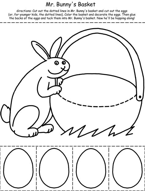 printable easter activities  coloring pages  kids
