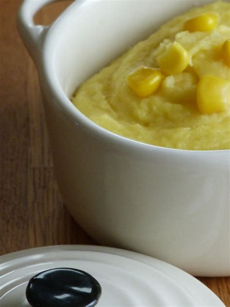 mais cuisine purée au maïs blogs de cuisine