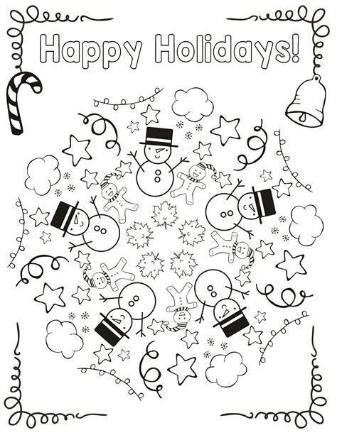 holiday coloring mandala cool school educational