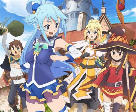 konosuba   genuinely amazing anime black nerd problems