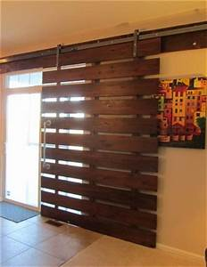 Modern take on the barn door look for Modern barn doors for a unique home