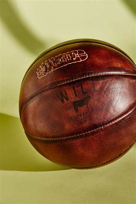 leather goods golden age leather basketball