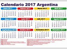 feriados 2017 argentina calendario 2017 Que Pasa
