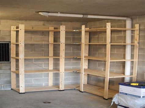 build corner storage shelves google search