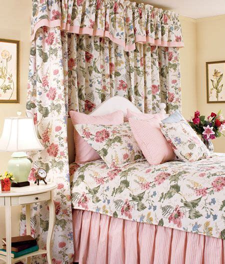cottage garden curtains fabric bedspread and shower