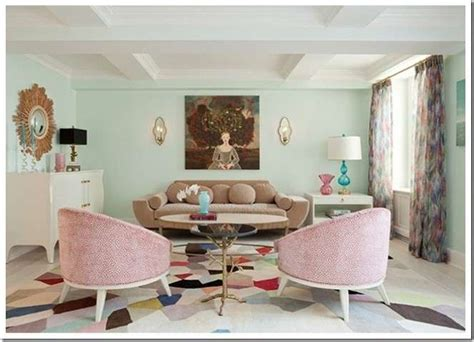 1950s Bedroom Furniture Styles by Living Room Decorating Ideas With Pastel Colors For Summer