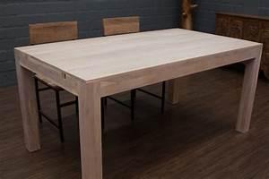 Massivholz Esstisch Weiss Affordable Esstisch Wei Rund