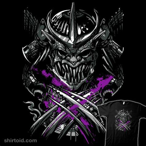 samurai shredder shirtoid