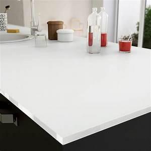 Découpe De Verre Sur Mesure : plan de travail sur mesure verre laqu blanc mm ~ Dailycaller-alerts.com Idées de Décoration