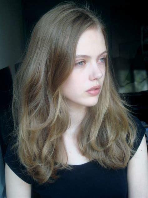ash medium dark blonde   natural hue hair